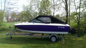 speedboot cabriokap