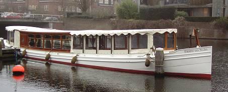 rondvaartboot tent
